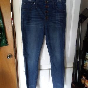 Madewell High Rise Skinny Crop